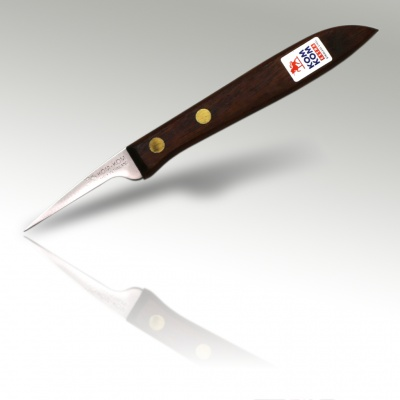 2'' Carving Knife Wooden Handle