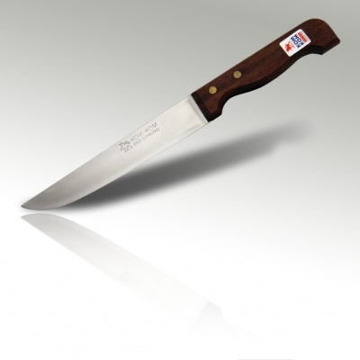 7'' Carving Knife (High Carbon) Wood Handle
