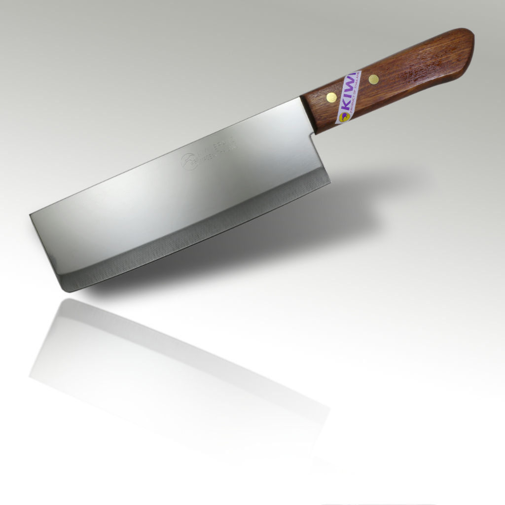 8'' Cleaver Knife Wooden Handle